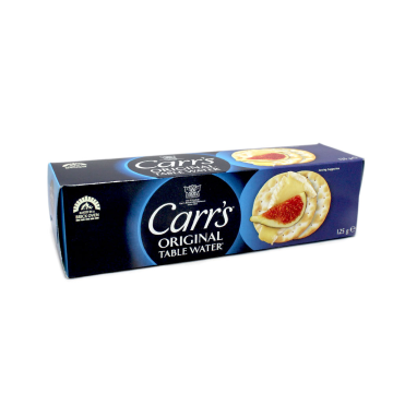 Carr's Table Water Original 125g/ Galletas para Aperitivos