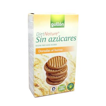 Gullón Diet Nature Galletas Doradas al Horno Sin azúcares 330g