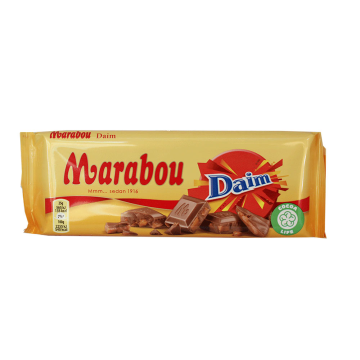 Marabou Daim 100g/ Caramel Pieces Milk Chocolate