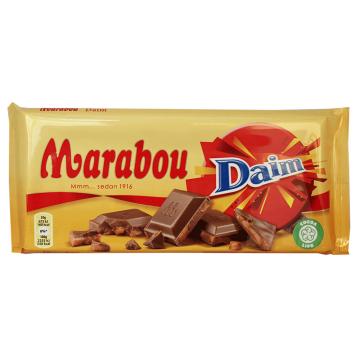 Marabou Daim 200g/ Chocolate con Leche y Almendras