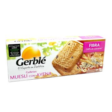Gerblé Galletas Muesli con Avena 290g/ Muesli&Oats Cookies