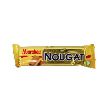 Marabou Dubbel Nougat 43g/ Chocolatina de Turrón