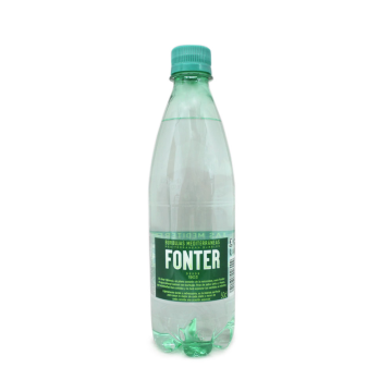 Fonter Agua Mineral con Gas 50cl/ Sparkling Water