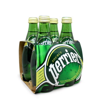 Perrier Agua Mineral con Gas 4x33cl/ Sparkling Water