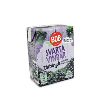 Bob Svarta Vinbär Lättdryck 200ml/ Blackcurrants Squash