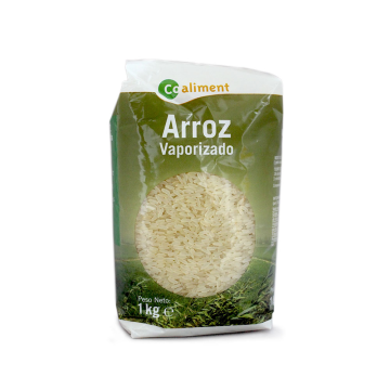 CoAliment Arroz Vaporizado 1Kg/ Steamed Rice