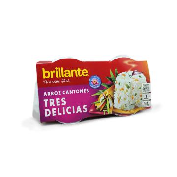Brillante 1minuto Arroz 3 Delicias 2x125g