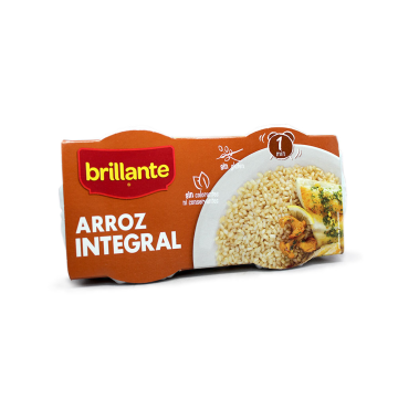 Brillante 1minuto Arroz Integral 2x125g/ Whole Grain Rice