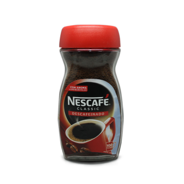 Nescafé Clásico Café Descaf Soluble 200g/ Instant Decaf Coffee