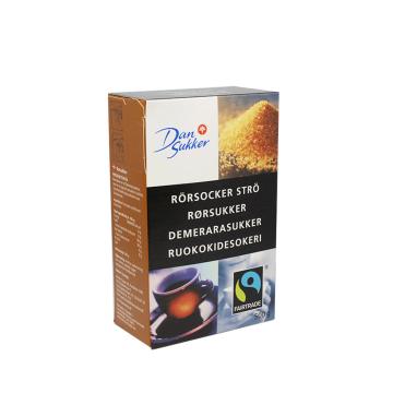 Dan Sukker Rörsocker Strö 500g/ Cane Sugar