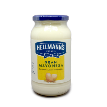 Hellmann's Mayonesa de Tarro 450g/ Mayonnaise