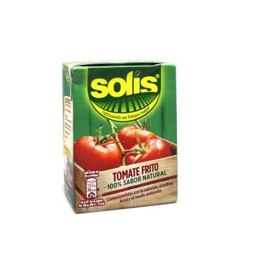 Solis Tomate Frito 100% sabor Natural Brik 350g