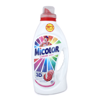 Micolor Colores Vivos Gel Detergente 1,426L/ Colour Laundry Liquid