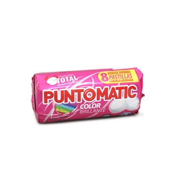 Punto Matic Color Detergente Lavadora Patillas/ Colours Laundry Tablets