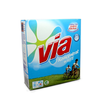 Via Koncentrat White 750g/ White Laundry Detergent