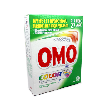 Omo Pulver Color 1,17Kg/ Detergente para Ropa Color