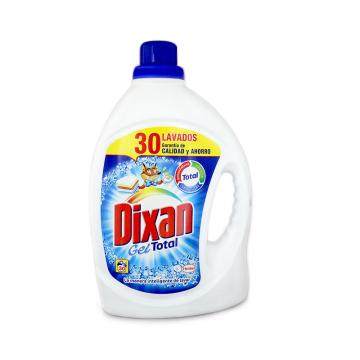 Dixan Detergente Gel Total 30 Lavados