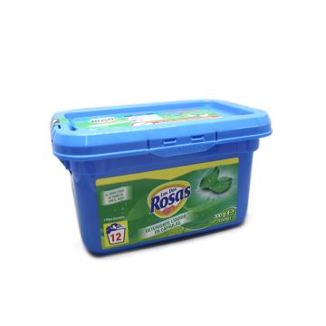 Las Dos Rosas Detergente Cápsulas 12x25g/ Laundry Detergent Capsules