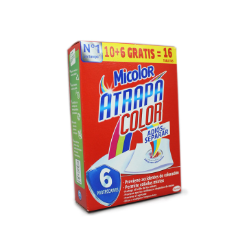 Micolor Atrapa Color Fibras Absorbentes x10/ Colour Wipes