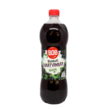 Bob Sblandsaft Svartvinbär 95cl/ Concentrado Grosella Negra