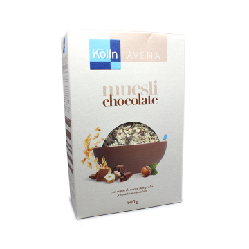 Kölln Müsli Schoko 500g/ Muesli de avena con Chocolate