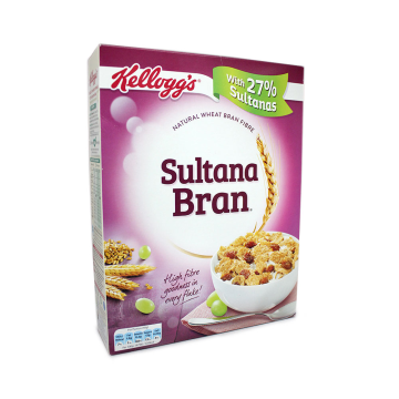 Kellogg's Sultana Bran Cereals 500g/ Cereals with Sultanas