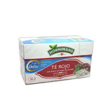 Hornimans Té Rojo con Anís y Ciruela x20/ Red&Anise Tea