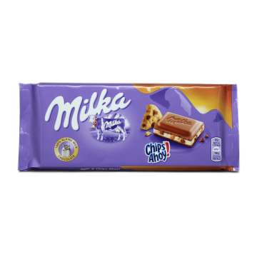 Milka Chocolate Chips Ahoy! 100g/ Chocolate with Cookies