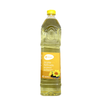 CoAliment Aceite Refinado de Girasol 1L/ Sunflower Oil