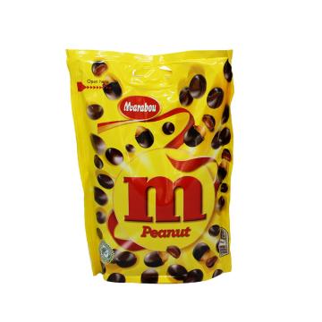 Marabou M Peanut 200g/ Cacahuetes de Chocolate