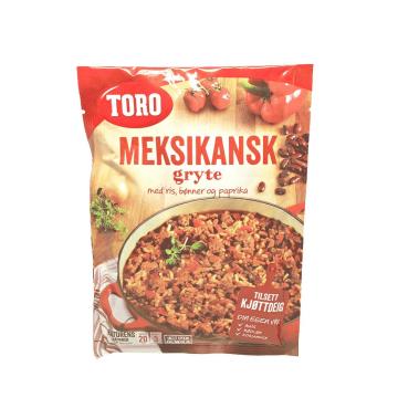Toro Meksikansk Gryte Med Ris 190g/ Mexican Pot