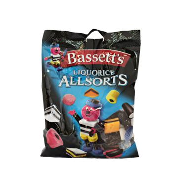 Bassett's Liquorice Allsorts 190g/ Liquorice Mix