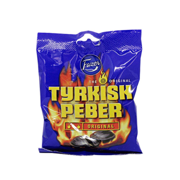 Fazer Tyrkisk Peber 120g/ Liquorice Pepper Candies