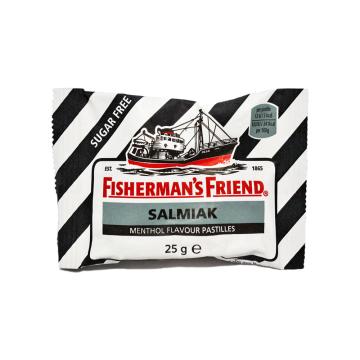 Fisherman's Friend Salmiak Menthol 25g/ Liquorice Mint Candies