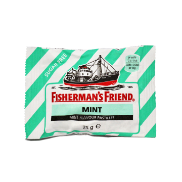 Fisherman's Friend Mint 25g/ Liquorice Mint Candies Sugar free