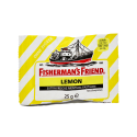 Fisherman's Friend Lemon 25g/ Regaliz Limón Sin Azúcar