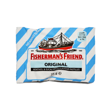 Fisherman's Friend Original 25g/ Liquorice Candies Sugar free