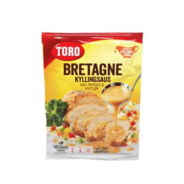 Toro Bretagne Kyllingsaus M/Paprika 27g/ Britain Chicken Sauce