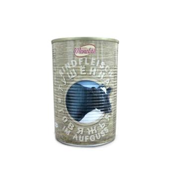 Monolith Тушёнка говяжья 400г/ Stewed Beef Meat 400g
