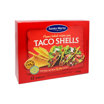 Santa Maria Taco Shells 12U 135g/ Tacos
