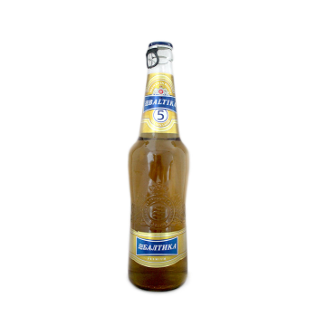 Балтика 5 Пиво 5,3% 0.5л/ Baltika Nº5 Beer 5,3% 0.5L