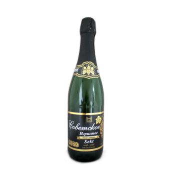 Шампанское белое пл/сл Советское Игристое/ Sovetskoe Igristoe Vino Espumoso Semi Dulce