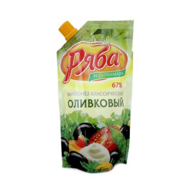 Olivkoviy Ryaba Майонезз классический оливковый 215г/ Mayonesa Provenzal 67% 215g