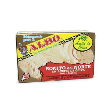 Albo Bonito del Norte en Aceite Oliva 112g/ White Tuna in Olive Oil