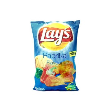 Lay's Chips Paprika 225g/ Patatas Fritas Pimentón