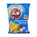 Olw Chips Sourcream&Onion 175g/ Patatas Fritas Crema Agia y Cebolla
