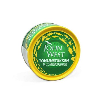 John West Tonjinstukken in Zonnebloemolie 120g/ Tuna in Sunflower Oil