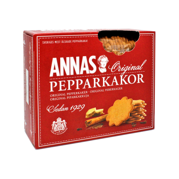 Annas Pepparkakor Original 300g/ Swedish Biscuits