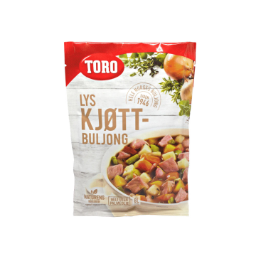 Toro Lys Kjøttbuljong Pulver 120g/ Meat Broth Powder