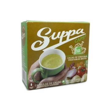 Suppa Cápsulas de Caldo de Verduras x10
